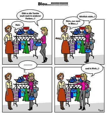 neulich beim Shoppen