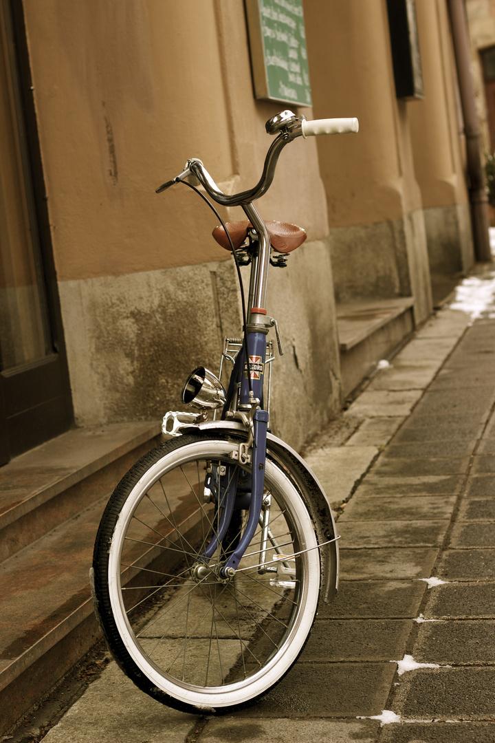 Neulich bin ich mit meinem Fahrrad...