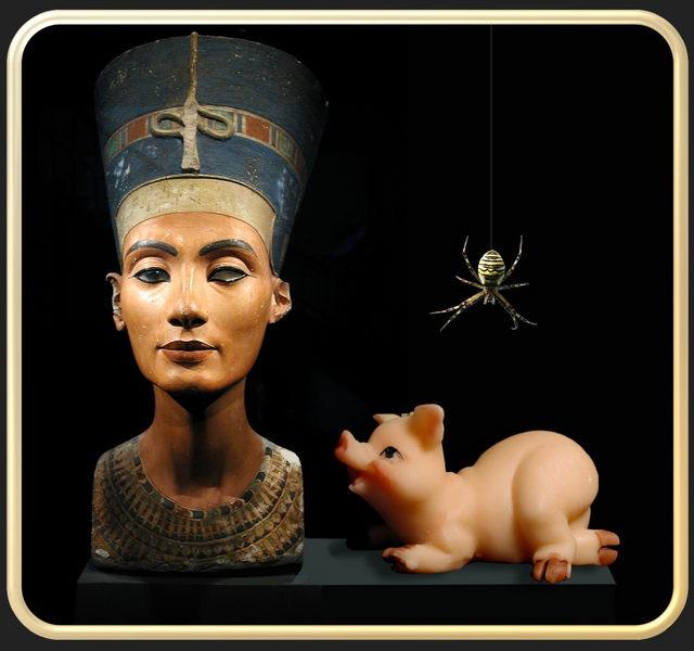 Neulich, im Ägyptischen Museum...