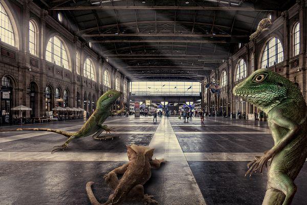 Neulich im Hauptbahnhof