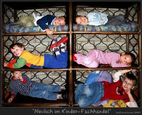 """"""" Neulich im Kinder - Fachhandel """""""