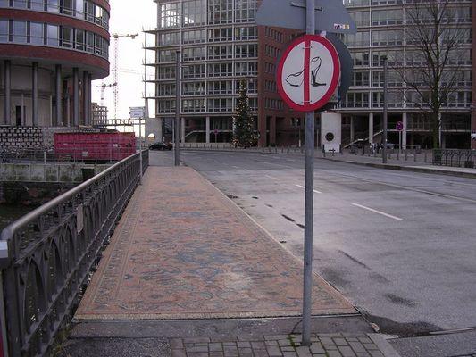 Neulich in Hamburg...