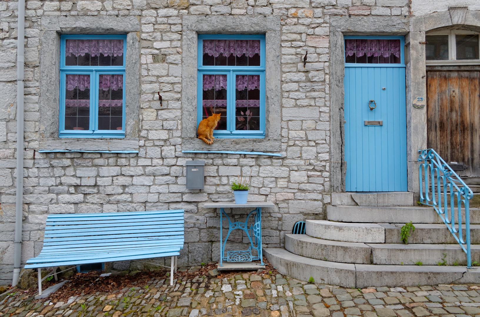 Neulich in Limbourg: Ich will rein!