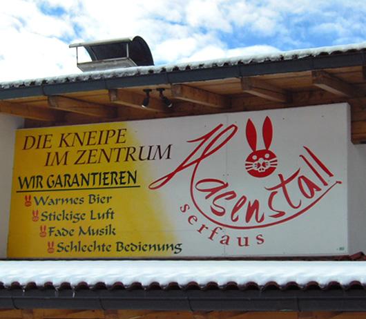 Neulich in Serfaus / Tirol