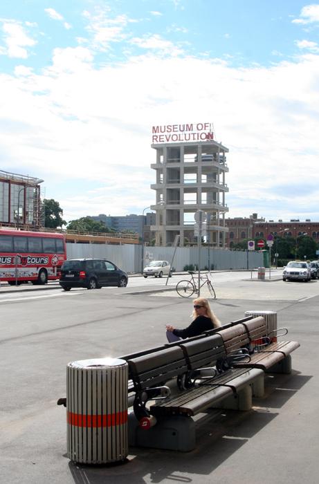 Neulich vor dem Südbahnhof (Ost)