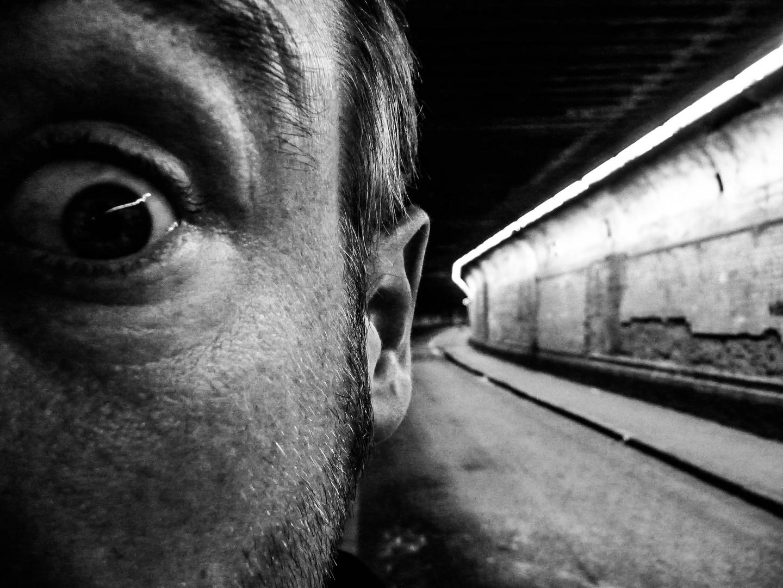 neulich,im tunnel,....