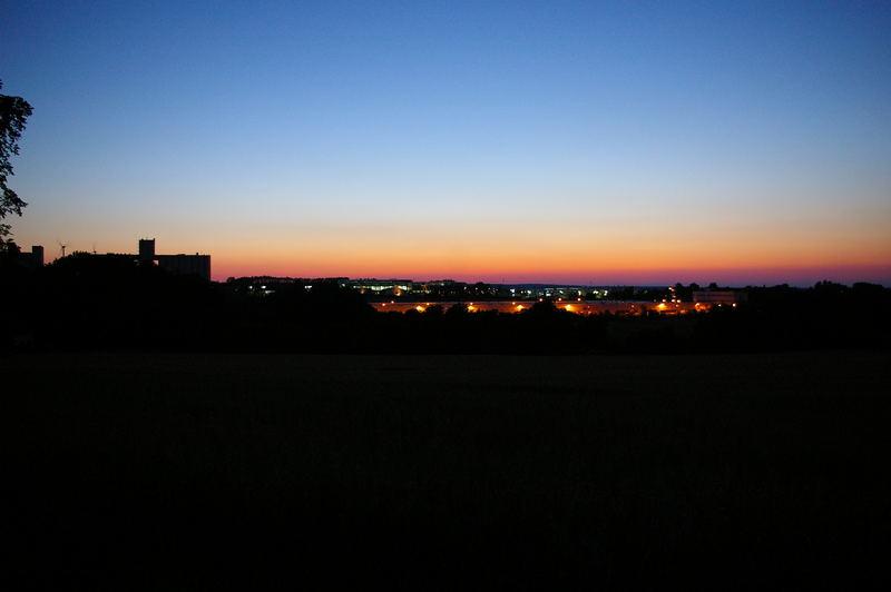 Neumarker Industriegebiet geht in die Nacht
