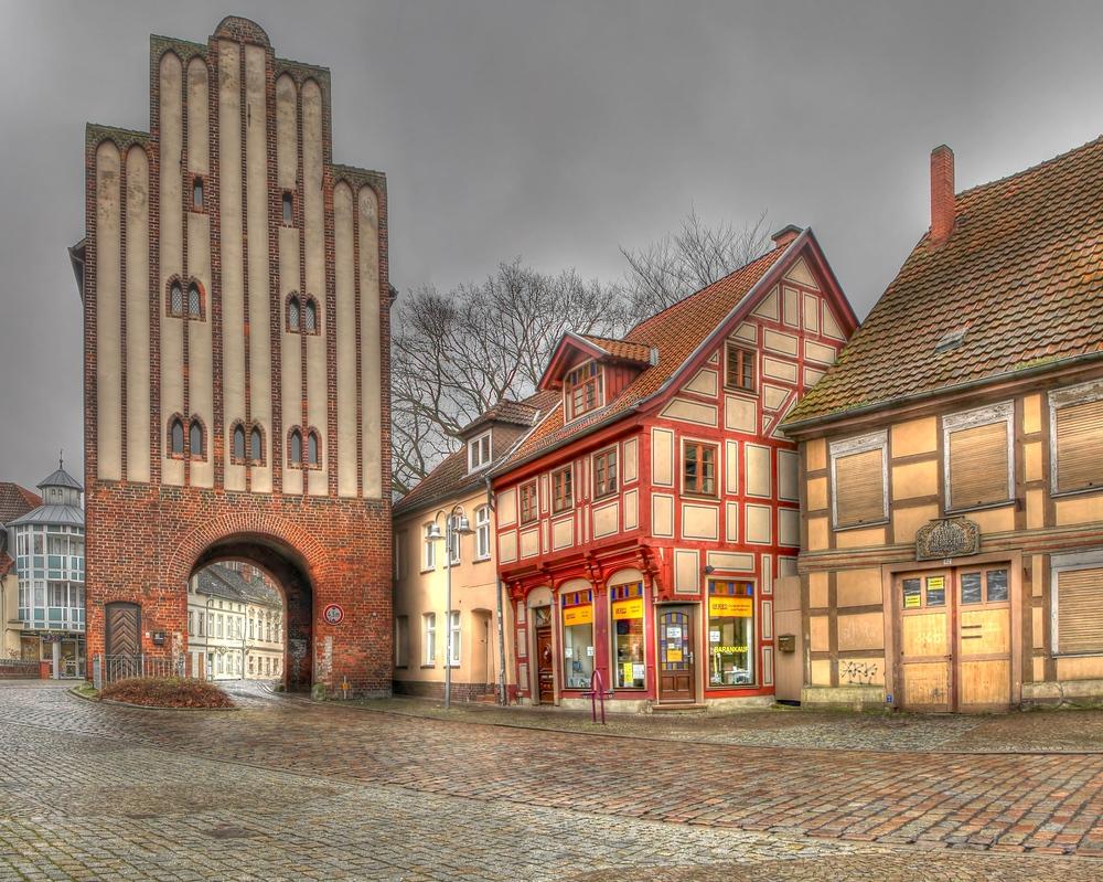 Neuperver Tor in der Hansestadt