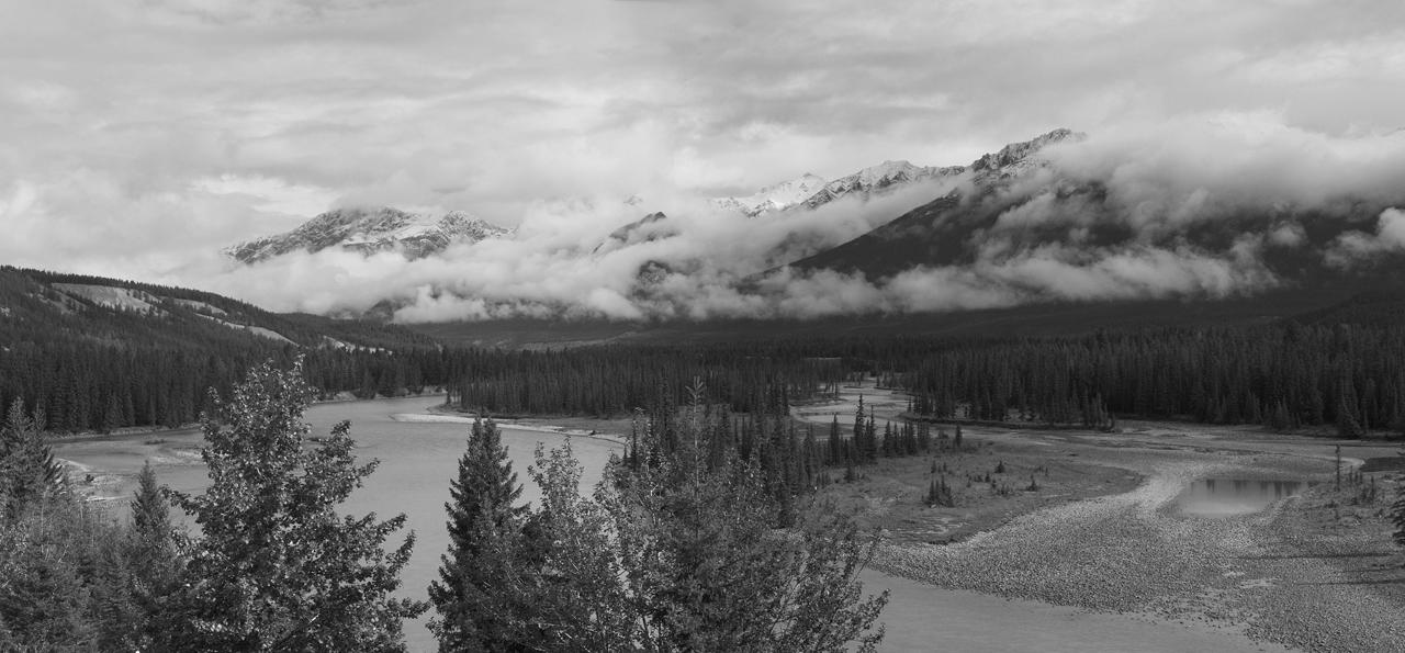 Neuschnee in Jasper