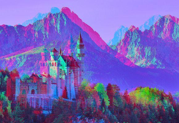 Neuschwanstein 3D