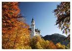 Neuschwanstein im Herbst