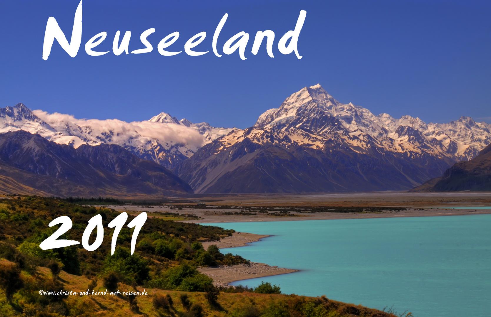 Neuseeland als Kalender 2011 (2)