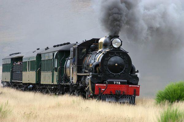 Neuseelands modernes Eisenbahnsystem