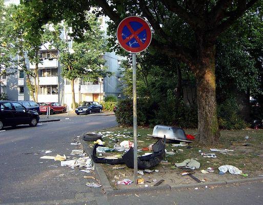 Müll Neuss schmutziges neuss fotos bilder fotograf aus neuss deutschland