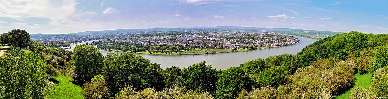 Neuwieder Becken Panorama