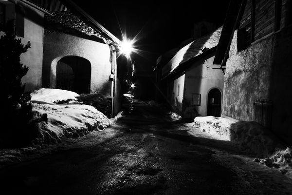 Névache (05) de nuit