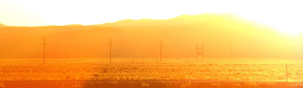 Nevada Desert Sunset