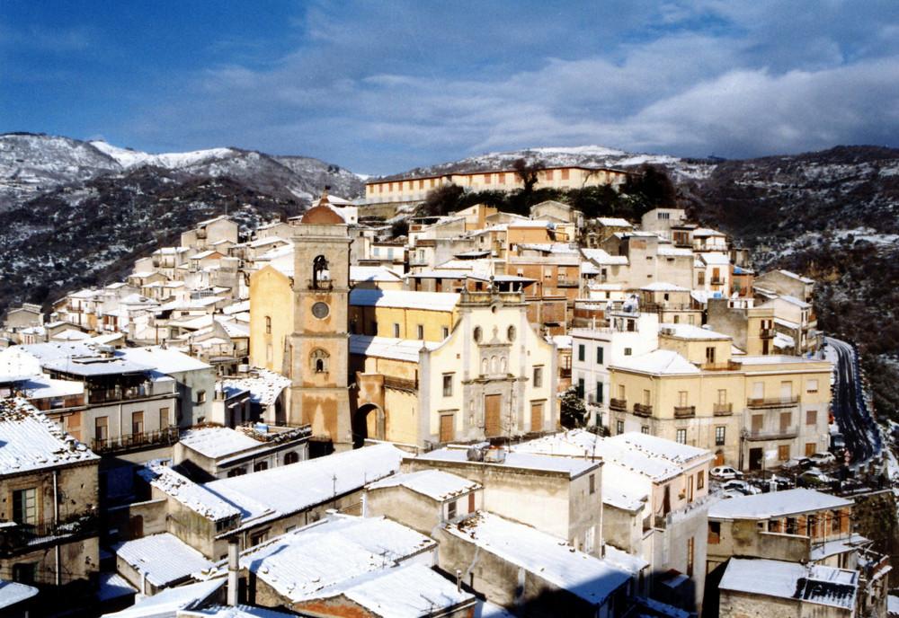 Neve a San Piero Patti