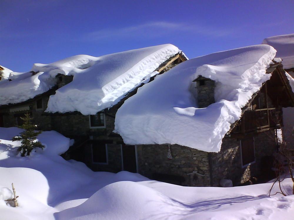 neve, sole e silenzio