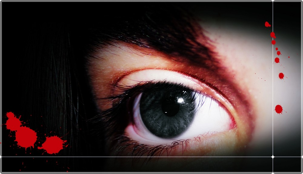 Never saw the eye of a murderer?