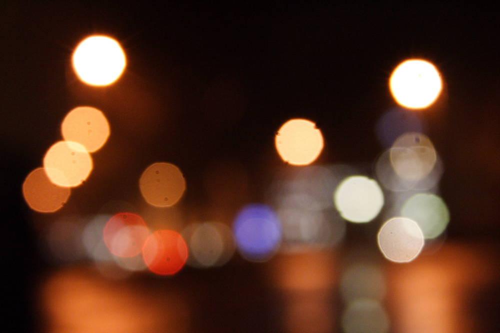 Neviges bei Nacht