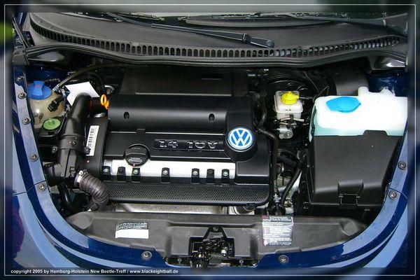New Beetle Motor 1,4 L 16V 55 Kw 75 PS
