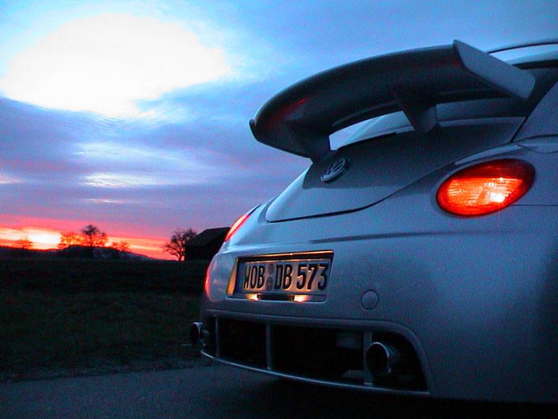 New Beetle RSI im Sonnenuntergang