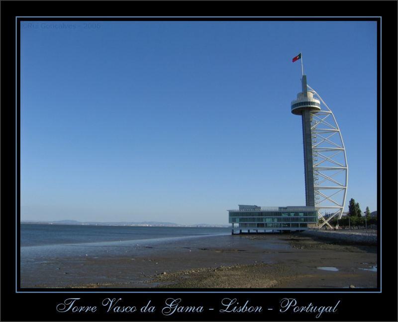 New Lisbon Tower - Tower Vasco da Gama - Parque das Nações