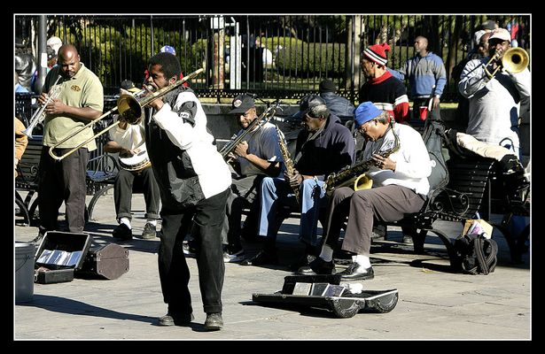 New Orleans, Strassenmusiker