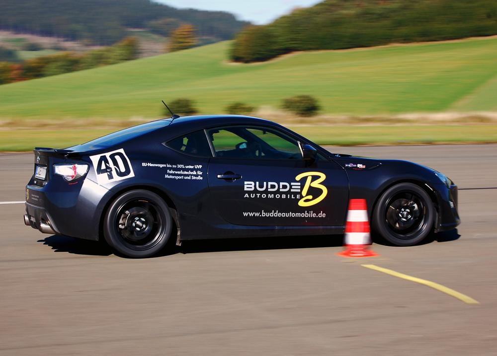 *new* Toyota 86 GT beim Auto Slalom