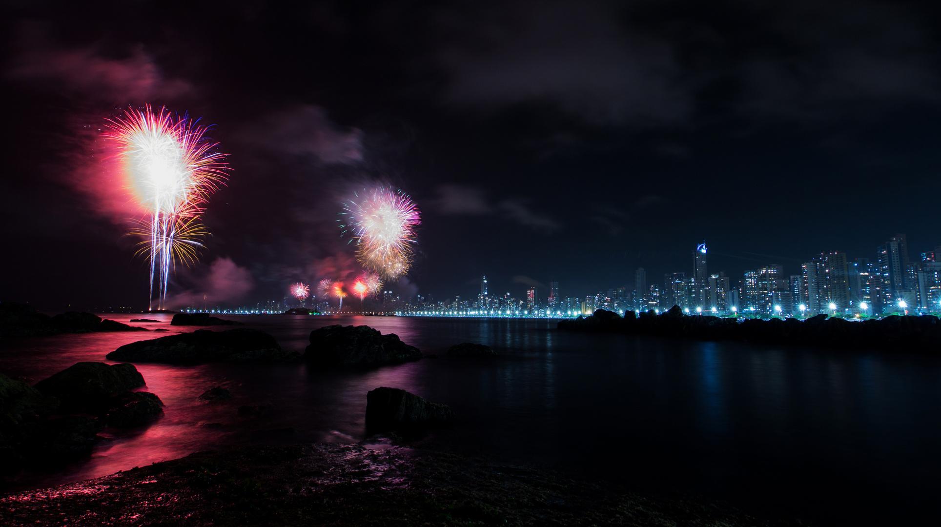 New Year 2014 - Balneario Comboriu, Brasil