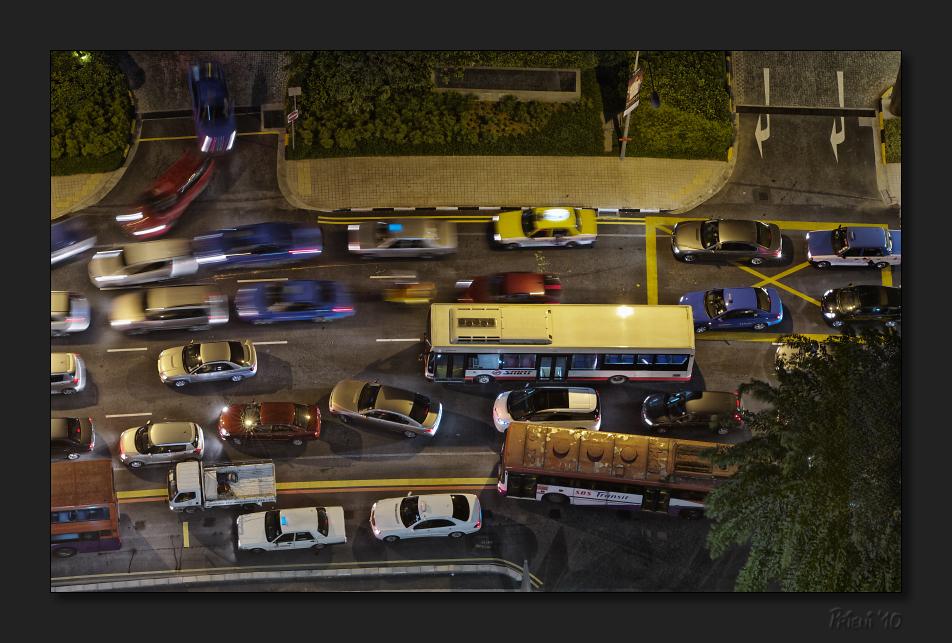 New Year rush hour
