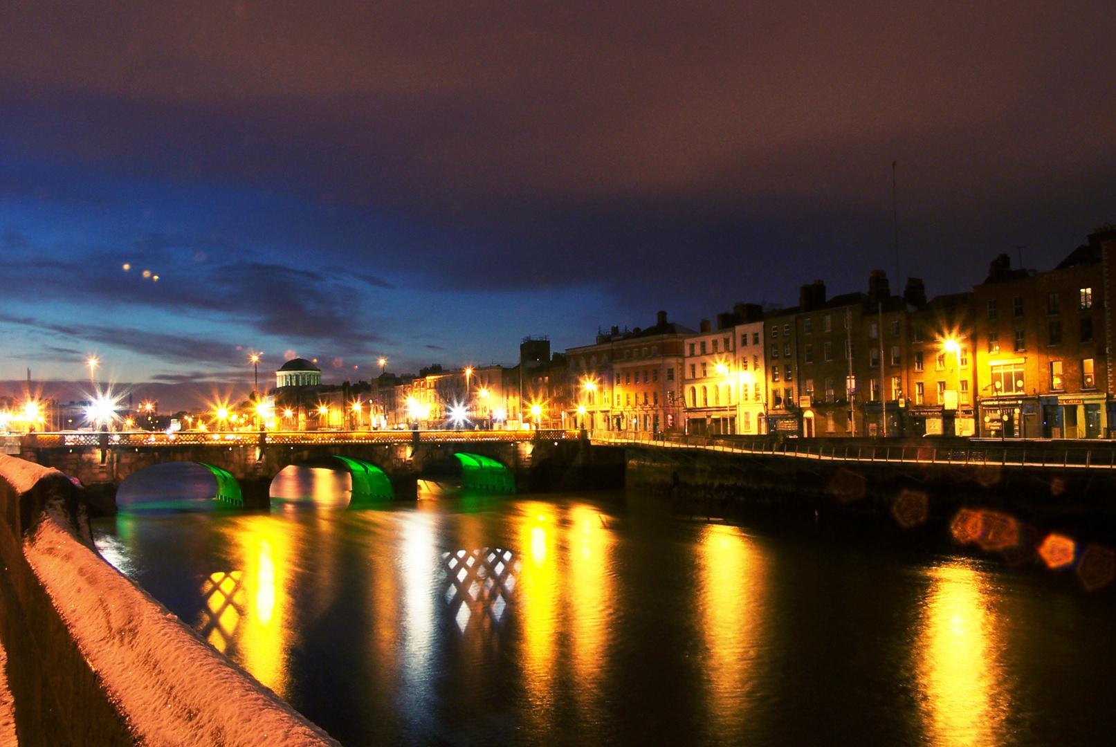 New Year's Eve at Dublin