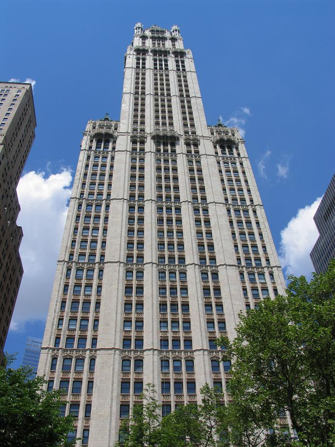 New York 2005, Woolworth Building