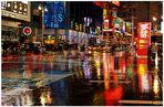 New York 2011, Broadway, tiempo lluvioso, dedicada a Petra M. (Regenwetter)