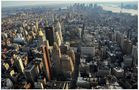 New York 2011, Vista del Empire State Building (Blick vom...), dedicada a St. u. A. Wiezoreck by Hartmut Stahl