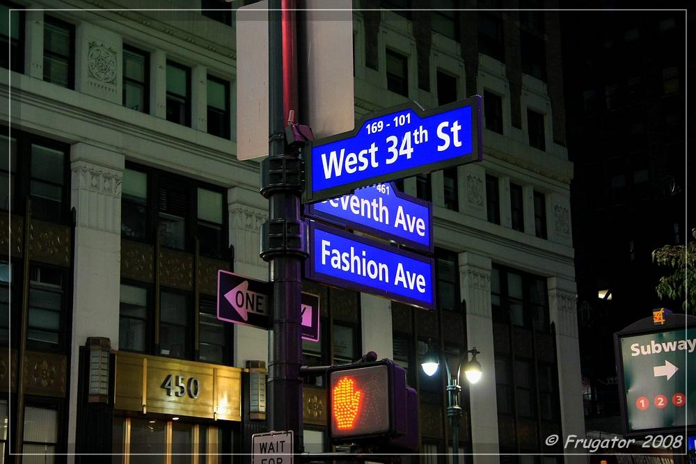New York: 34th Street / Ecke 7th Avenue