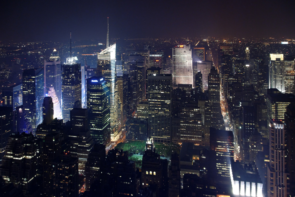 New York - auf dem Empire State Building