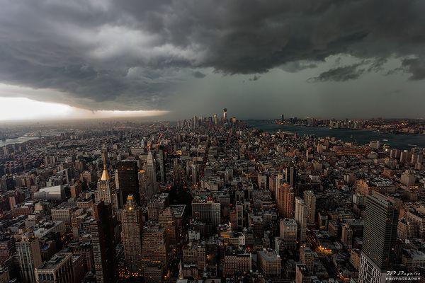 New-York avant l'orage