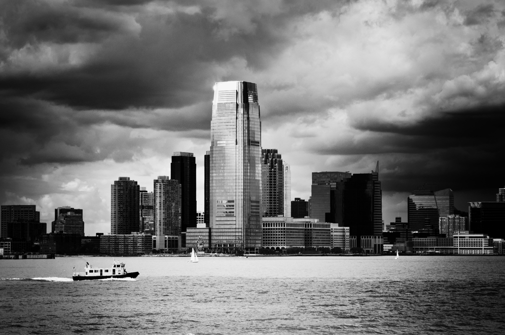 New York - Blick auf New Jersey
