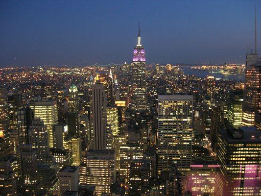 New York by night!