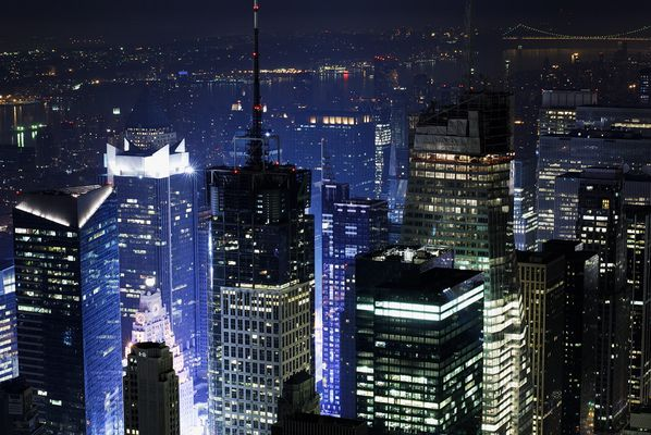 New York By Night Nr. 2 (ohne Photoshop Spielereien)