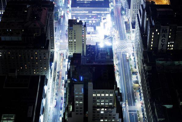 New York By Night Nr. 3 (ohne Photoshop Spielereien)