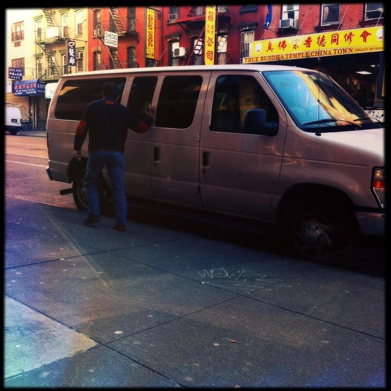 new york --C H I N A T O W N--