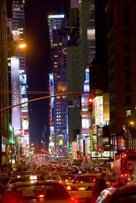 New York City #1 Times Square bei Nacht