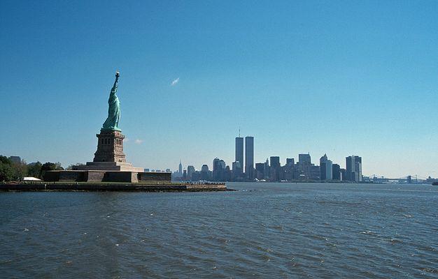 New York City 1998, Blick auf Südspitze von Manhattan