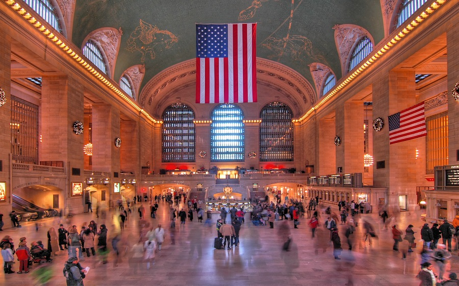 New York City #6 - Ghost Central Station