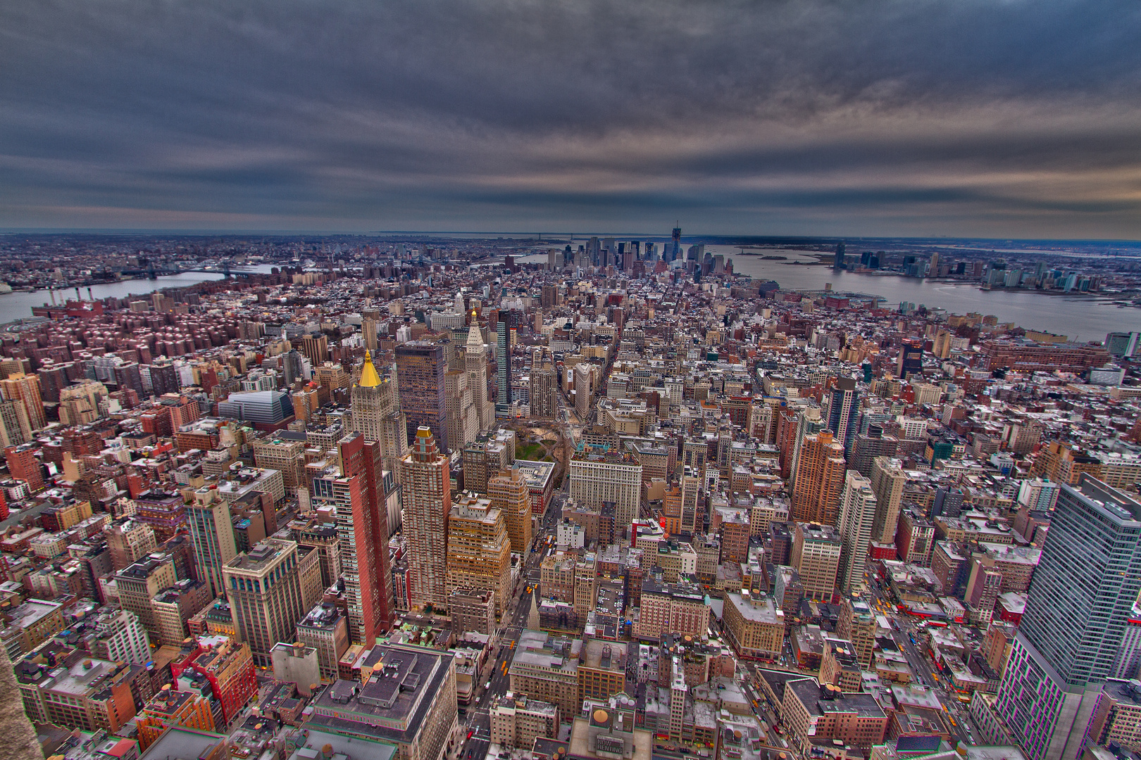 New York City - abstrakt