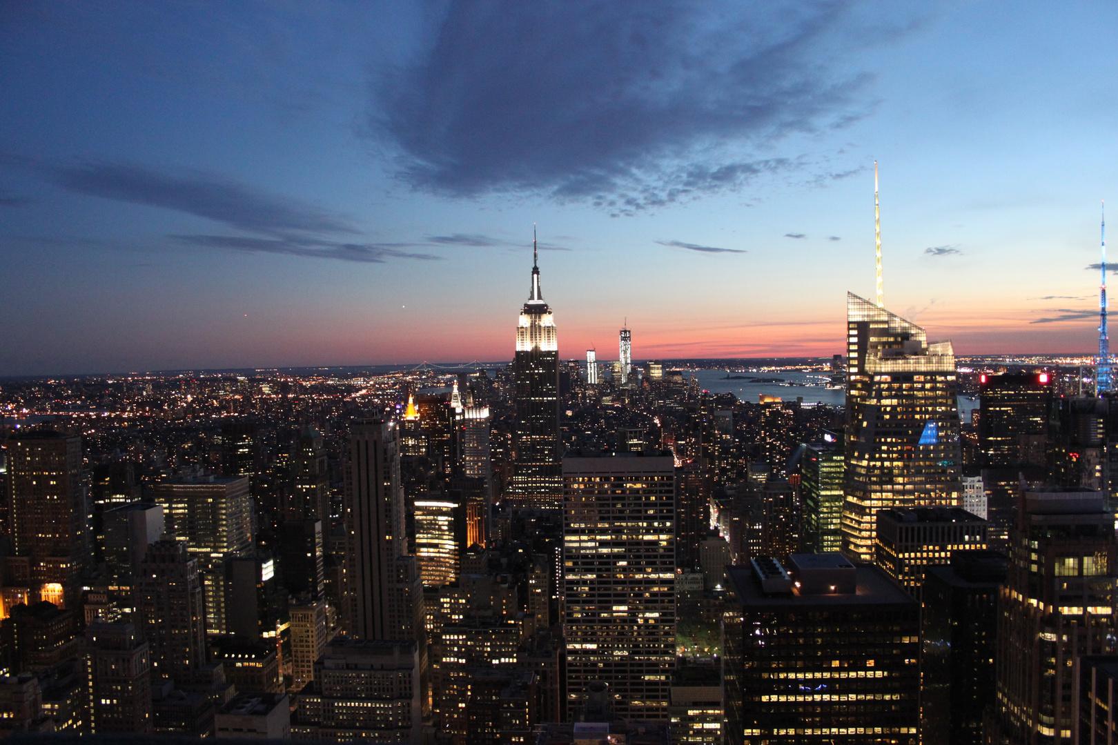 New York City am Abend