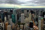 New York City Blick vom Empire State Building über den Central Park